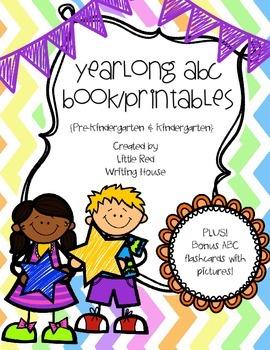 ABC Book & Printables {Portrait}