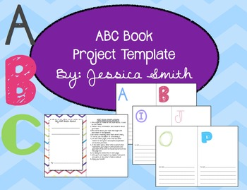 ABC Book Project For ANY Topic & ANY Grade! {Editable!}