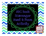 ABC Book Scavenger Hunt and Poem Activity