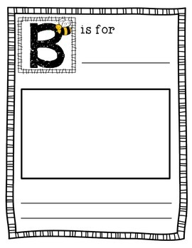 ABC Book Template