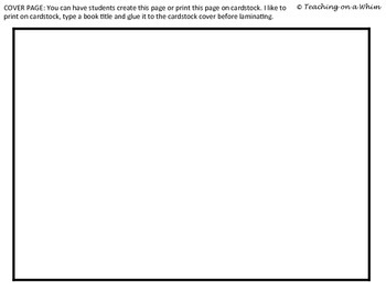 ABC Book Template with Tabs (For Vocabulary, Sight Words, Content Areas, etc.)