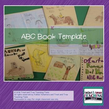ABC Book Template