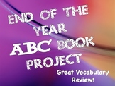 End Of Year ABC Book Template For Any Subject or Grade (Rubric Included)