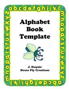 ABC Book Template for Elementary Grades