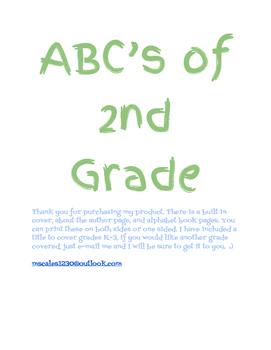 ABC Book Templates