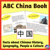 China ABC Book with Facts & Photos about Chinese Culture, Geography, and History