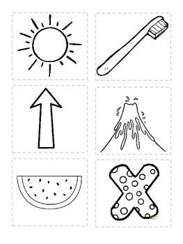 ABC Book, alphabet cut and paste