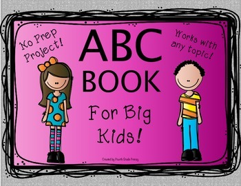 ABC Book for Big Kids