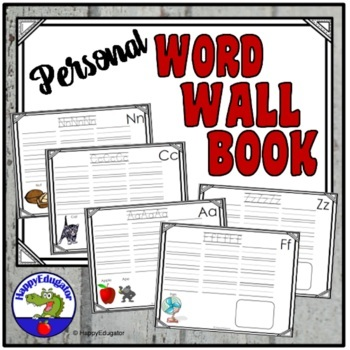 Word Wall Book: A - Z