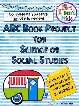 ABC Book for Science or Social Studies