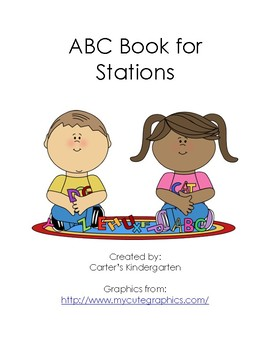 ABC Book for Word Work