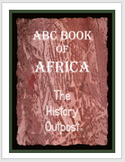 ABC Book of Africa Project Sheet with Rubric