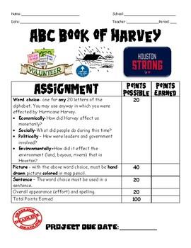 ABC Book of Hurricane Harvey