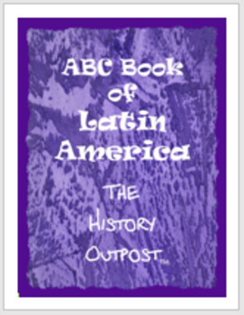 ABC Book of Latin America Project Sheet with Rubric