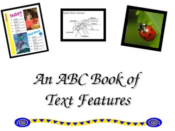 ABC Book os Text Features