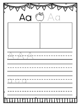 ABC Book with ABC Picture Charts