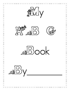 ABC Book/Dictionary/Word Work Pack