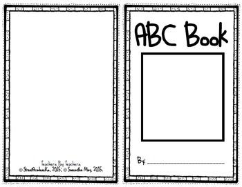 {Printable Booklet} ABC Book - for any subject, grade level