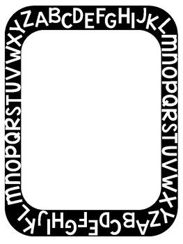 ABC Border Clip Art