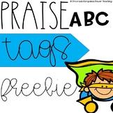 ABC Praise Tags Freebie