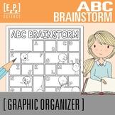 ABC Brainstorm Graphic Organizer