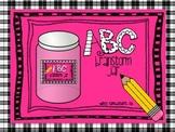ABC Brainstorm Workstation Centers or Early Finisher Jar