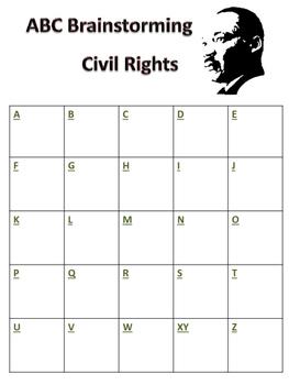 ABC Brainstorming Civil Rights