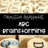ABC Brainstorming Organizer