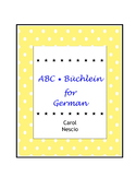 ABC * Büchlein For German