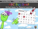 ABC Bug Swat Virtual Game for Remote Learning