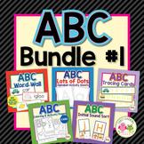 Alphabet Activities for Preschool & Kindergarten: ABC Bundle #1