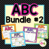 Alphabet Activities for Preschool & Kindergarten: ABC Bundle #2