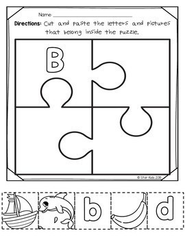 Back to School ABC Bundle for At Home Learning