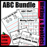 Alphabet Bundle - Missing Letters, ABC Handwriting, Booklets, and Charts