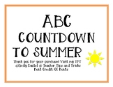 ABC COUNTDOWN TO SUMMER