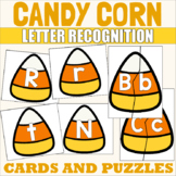 ABC Candy Corn Matching Upper and Lowercase Letters