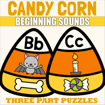 ABC Puzzles with Candy Corn Theme