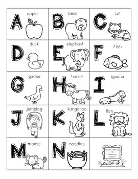 ABC Cards For At Home