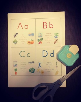 ABC Cards - Mindful Garden series