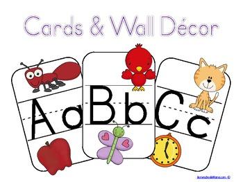 ABC Cards & Wall Decor