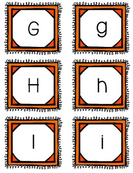 ABC Cards for Word Wall