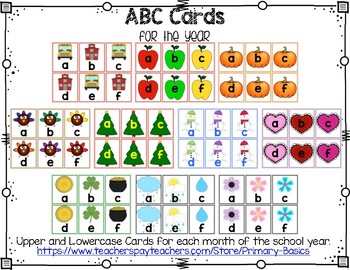 ABC Cards for the Year