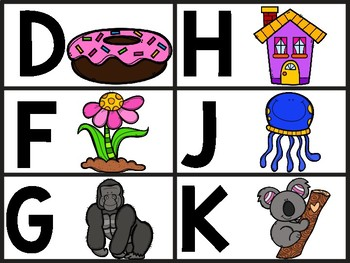 ABC Cards with beginning sound