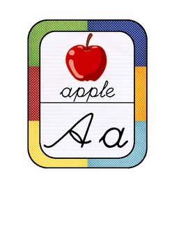 ABC Cards_Word Wall Cards_Flash Cards