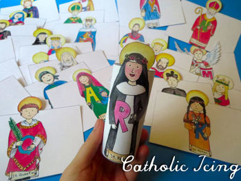 ABC Catholic Saints Craft
