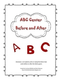 ABC Center--Before and After