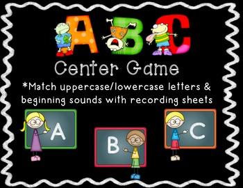 ABC Center Game