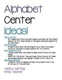 ABC Center Printable