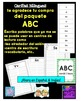 ABC Writing in Spanish & English