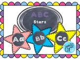 ABC Chalk Stars